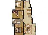 E户型-3室2厅1卫-103.0㎡